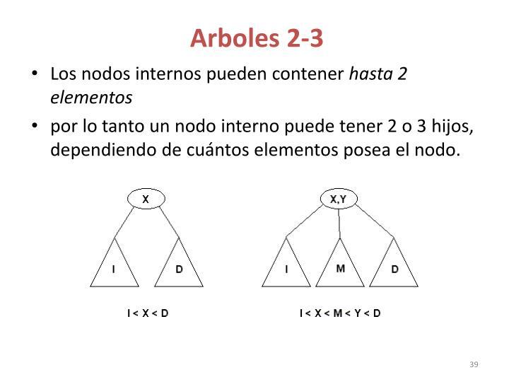 Arboles 2-3