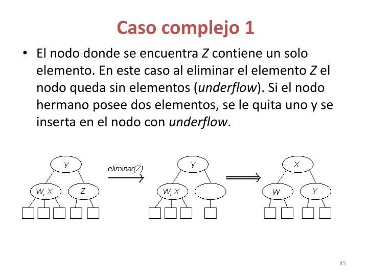 Caso complejo 1