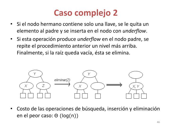 Caso complejo 2