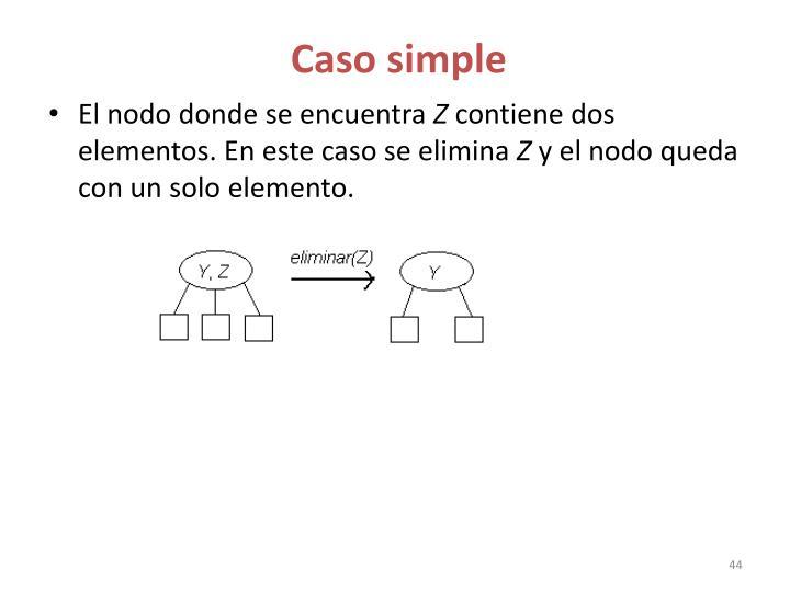Caso simple