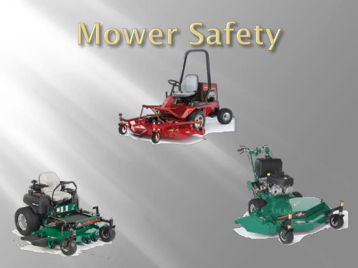 mower safety n.