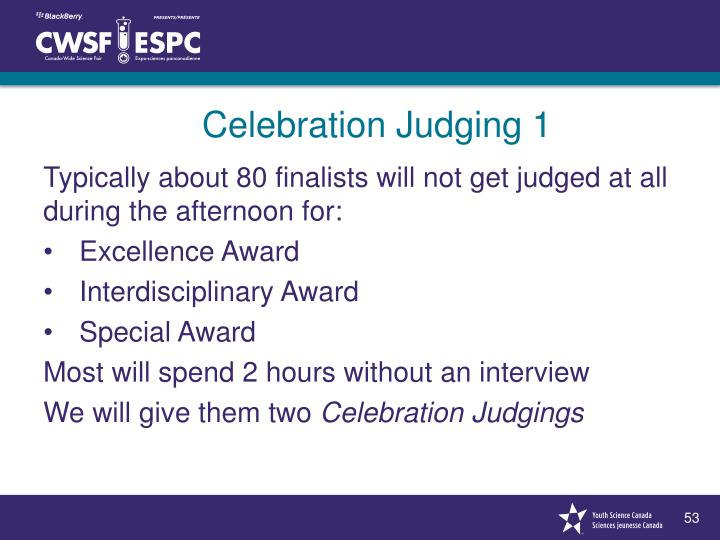 Celebration Judging 1