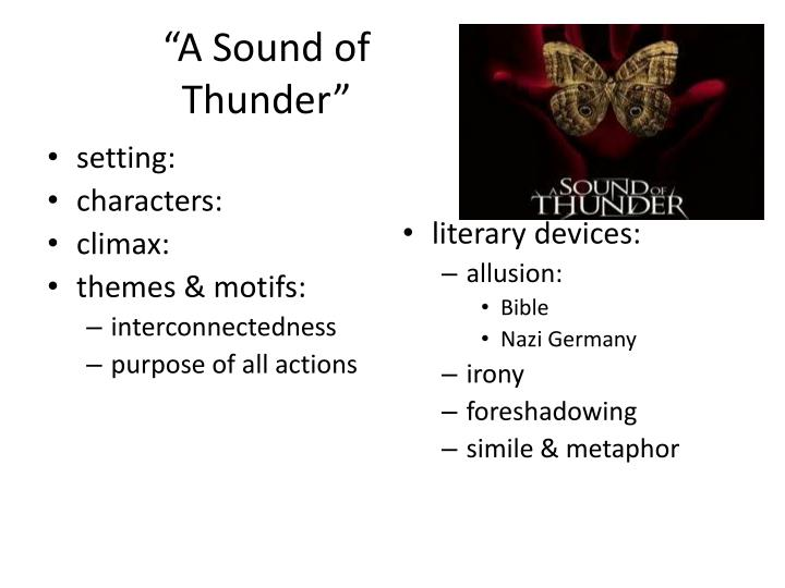 """A Sound of"