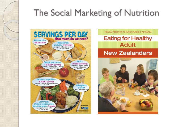 The Social Marketing of Nutrition