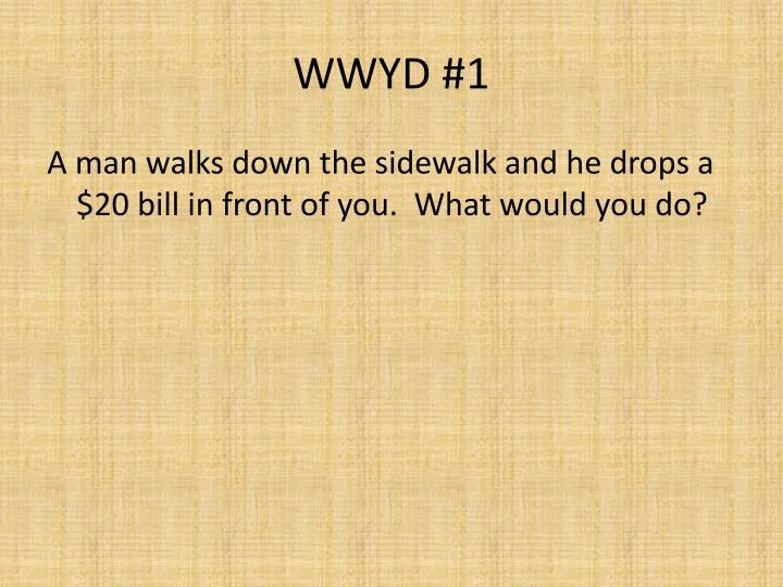 Wwyd 1