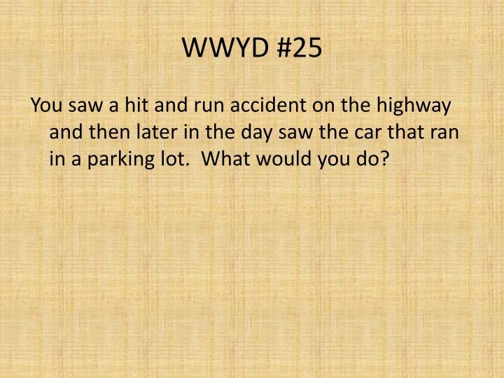 WWYD #25