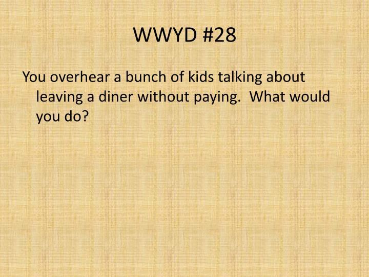 WWYD #28