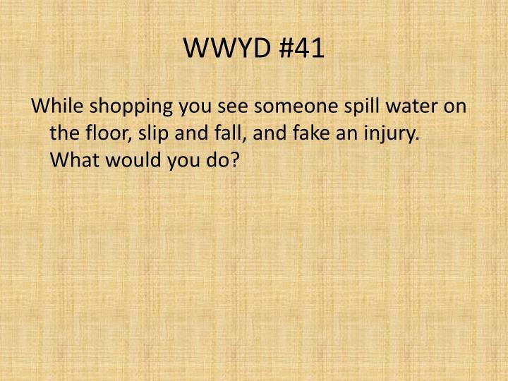 WWYD #41