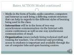 bates action model continued1
