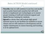 bates action model continued2