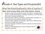 grade 4 text types and purposesw2