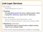 link layer services1