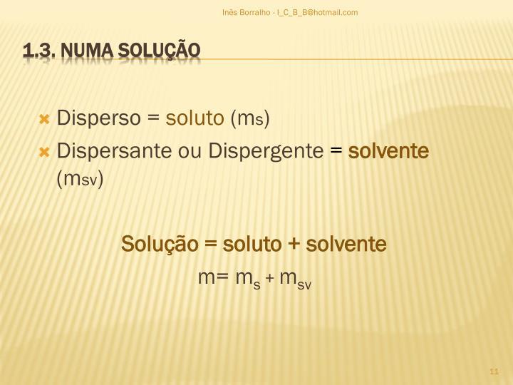 Disperso =