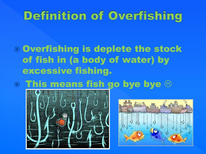 Definition of overfishing