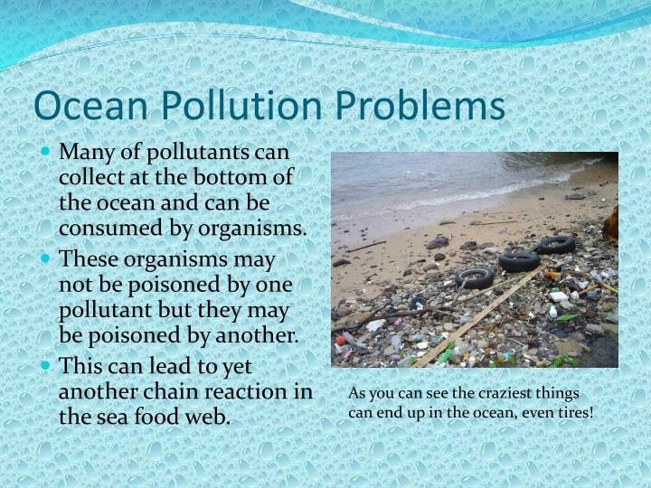 Ocean Pollution Problems