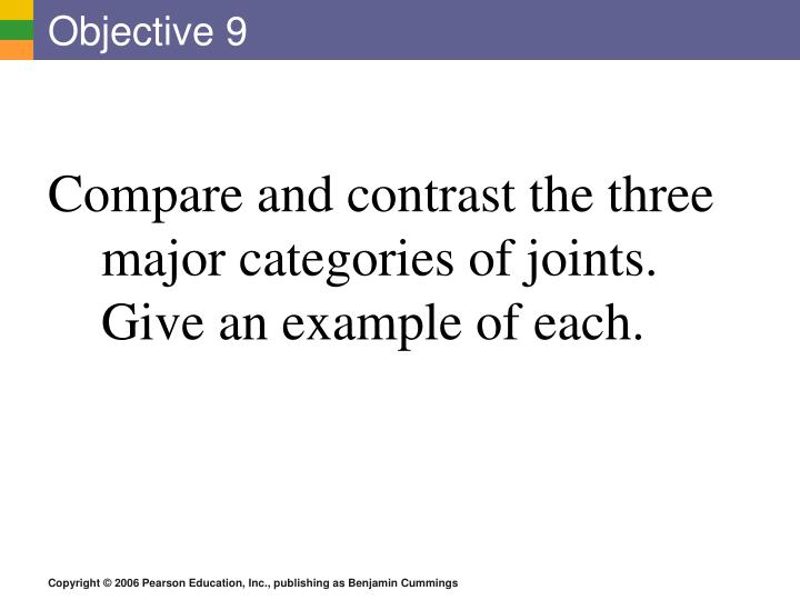 objective 9 n.