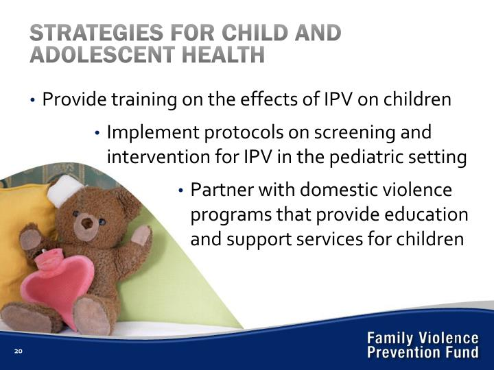 STRATEGIES FOR CHILD AND