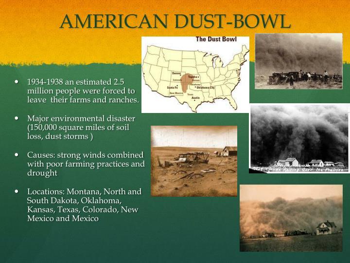 AMERICAN DUST-BOWL