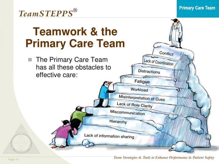 Teamwork & the Primary Care Team