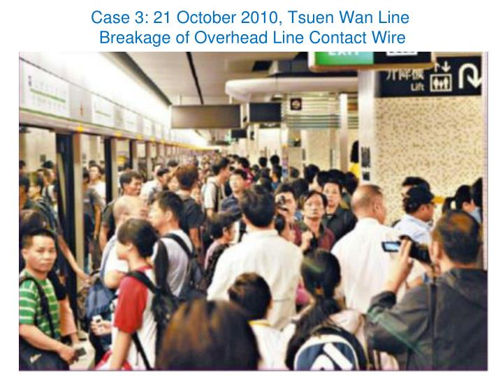 Case 3: 21 October 2010,