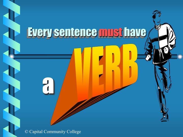 Every sentence