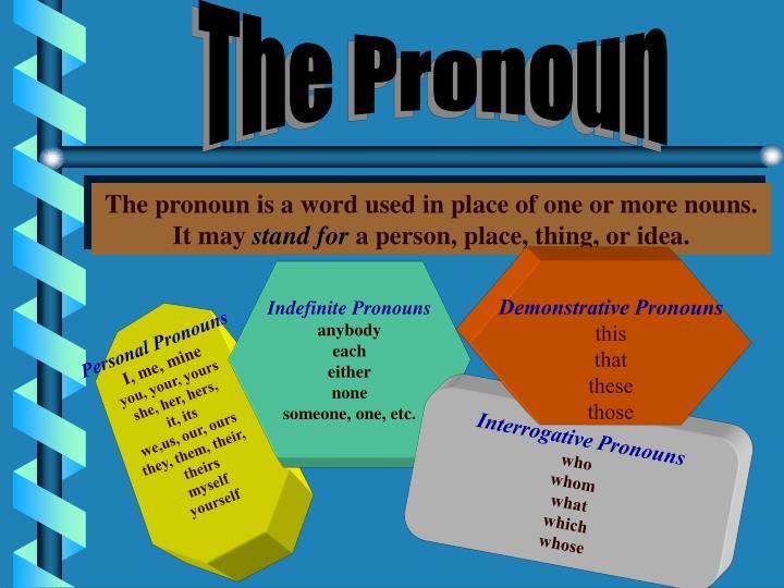 The Pronoun