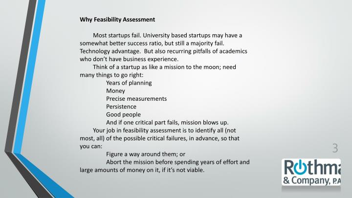 Why Feasibility