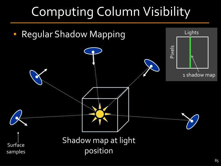 Computing Column Visibility