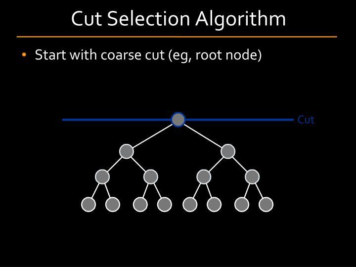 Cut Selection Algorithm