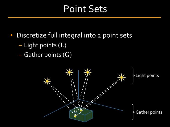 Point Sets