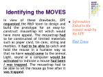 identifying the moves1