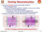 overlay reconstruction