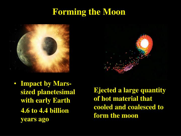 Forming the Moon