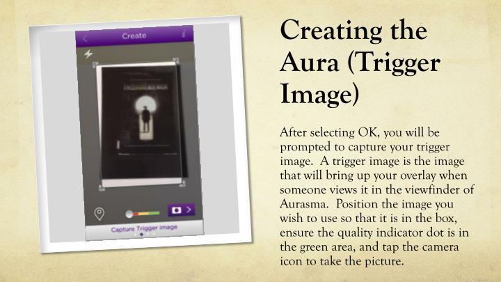 Creating the Aura (Trigger Image)
