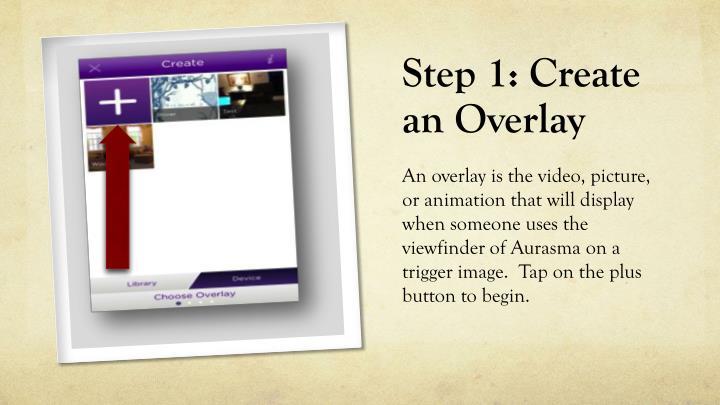 Step 1: Create an Overlay
