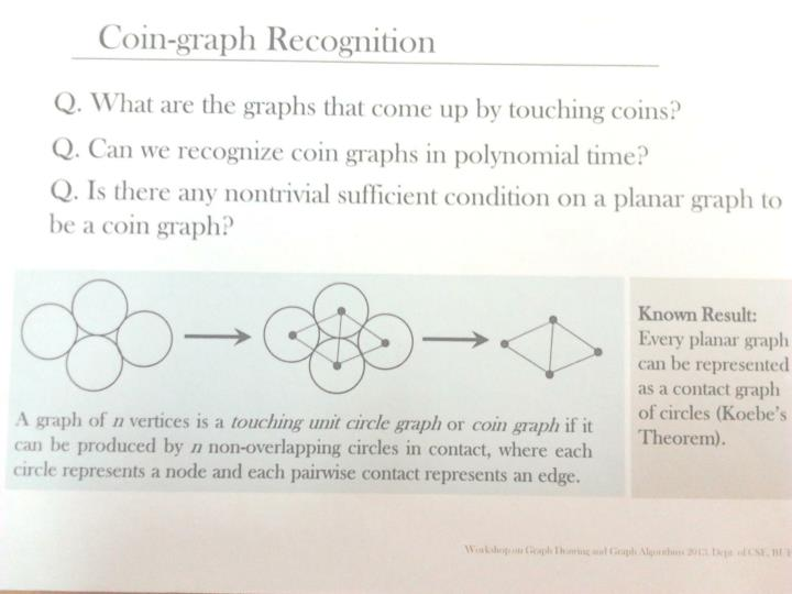 Coin graph recognition in complete trees