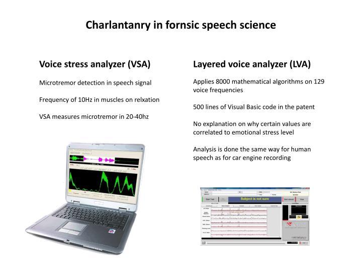 Voice stress