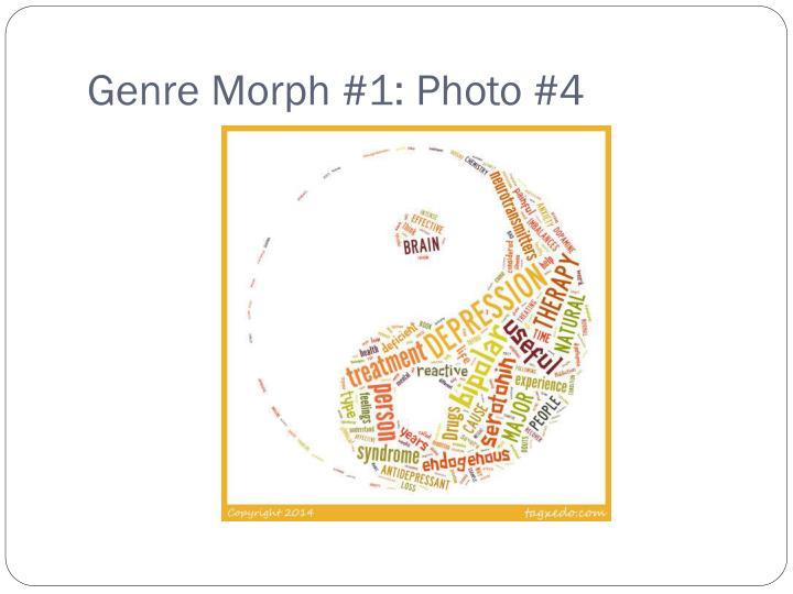 Genre Morph #1: Photo #4