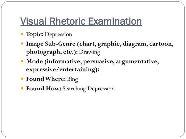 Visual Rhetoric Examination