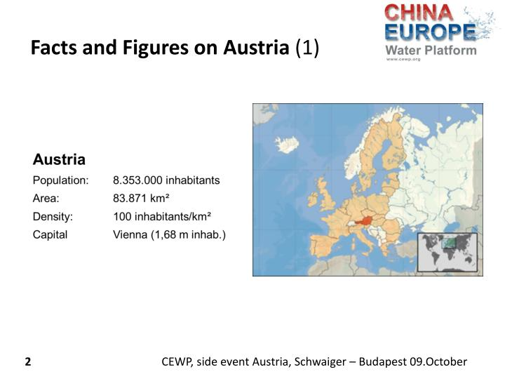 Facts and figures on austria 1