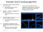 example level 2 tracking algorithm