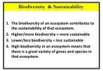 biodiversity sustainability1