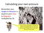 calculating your own pressure1