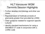 hl7 vancouver wgm terminfo session highlights