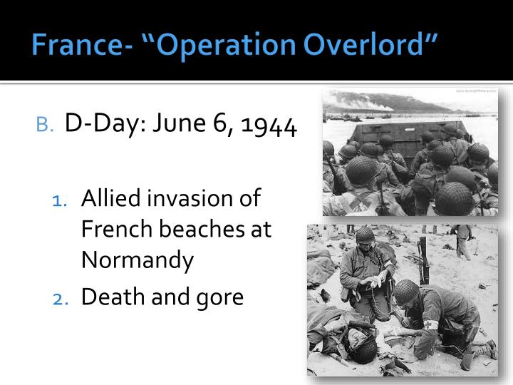 "France- ""Operation"