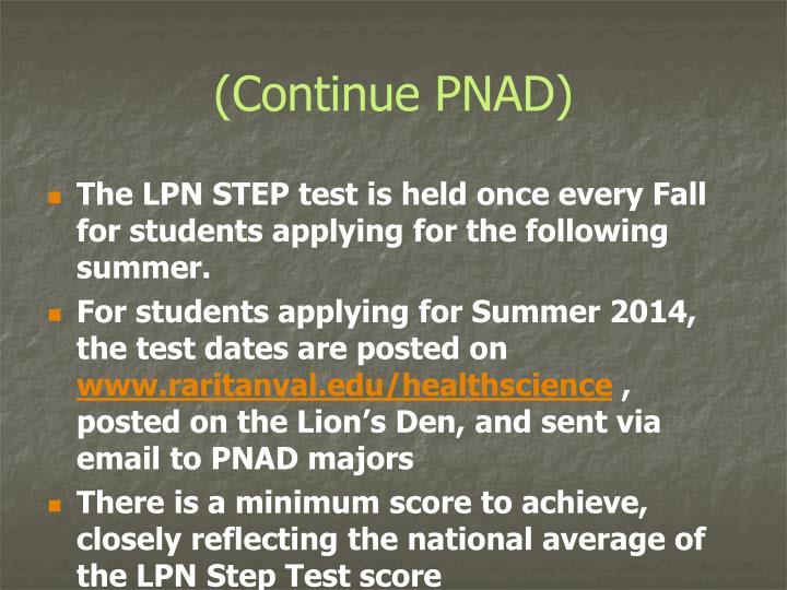 (Continue PNAD)