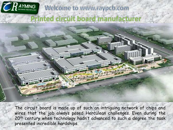 Welcome to www.raypcb.com