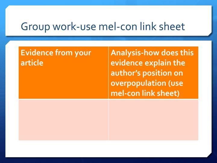 Group work-use