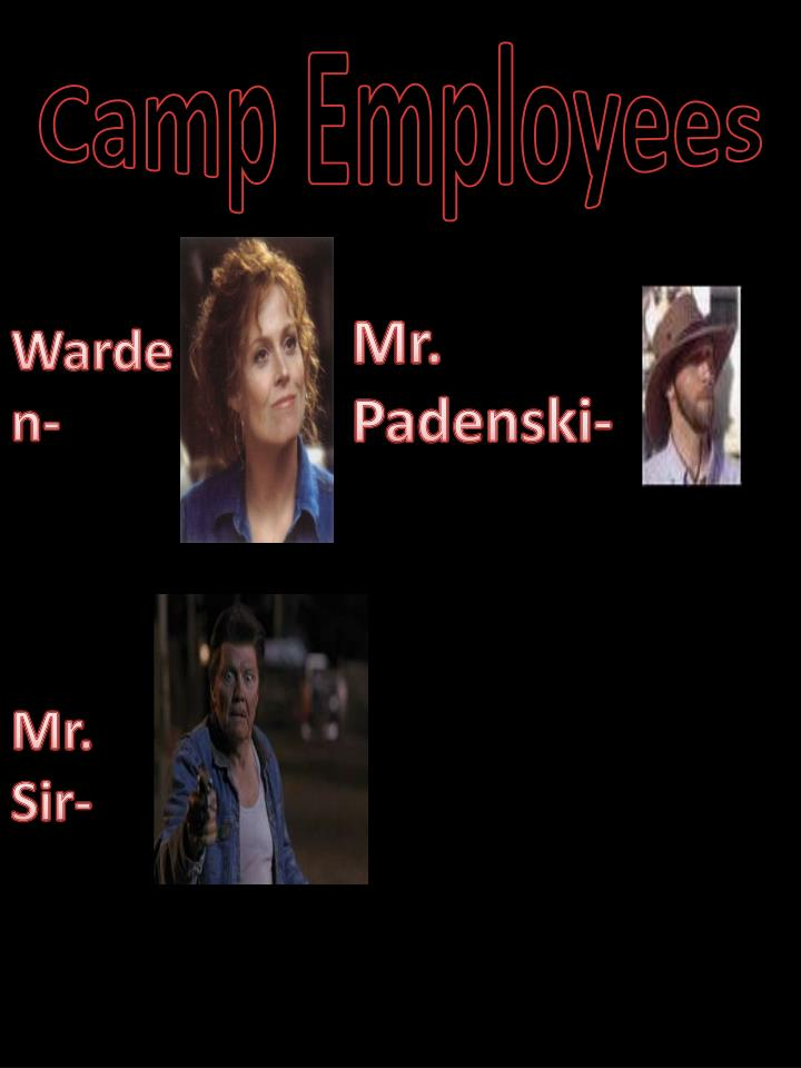 Camp Employees