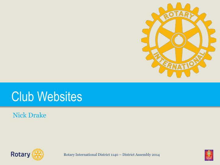 Club Websites